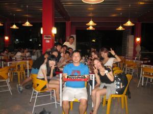 韓国人のバッチメイトのバースデイパーティ
