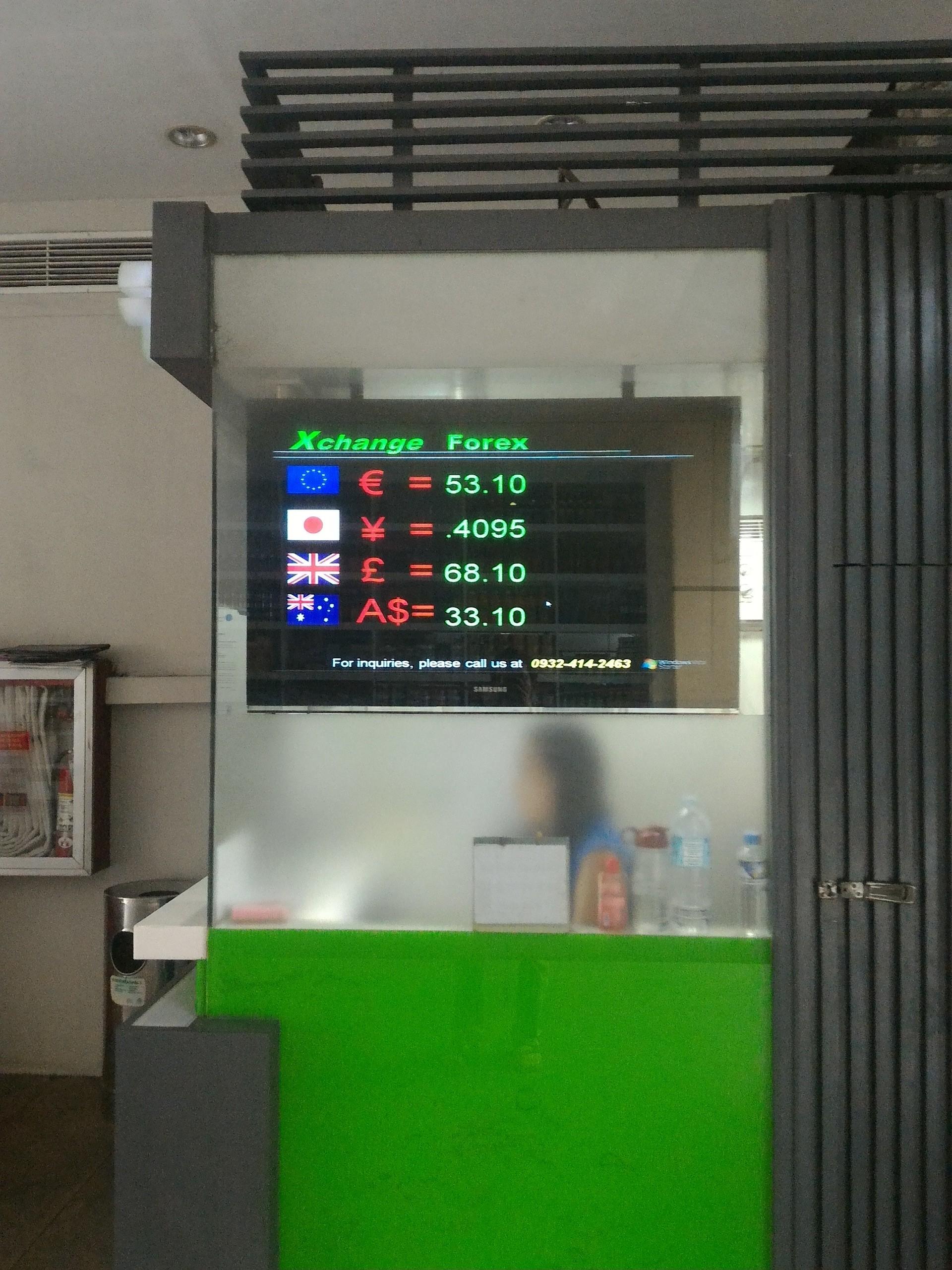 今日の為替レートは直近一年で最高レート。日本円からフィリピンペソへ。